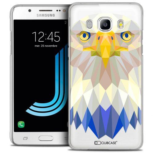 Coque Crystal Galaxy J5 2016 (J510) Extra Fine Polygon Animals - Aigle
