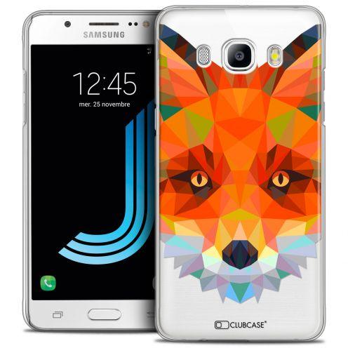 Coque Crystal Galaxy J5 2016 (J510) Extra Fine Polygon Animals - Renard