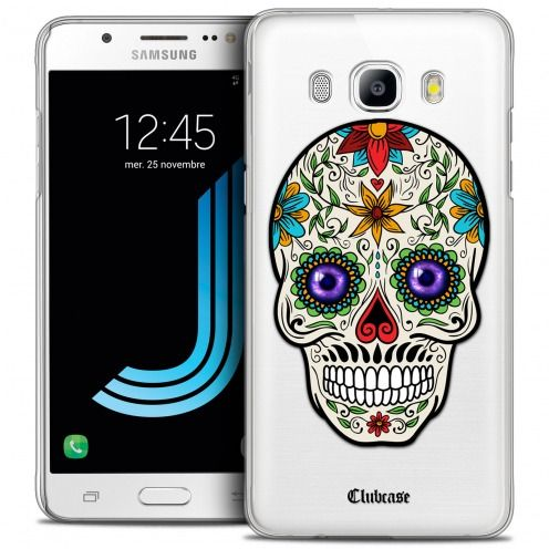 Coque Crystal Galaxy J5 2016 (J510) Extra Fine Skull - Maria's Flower