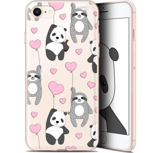 "Coque Gel Apple iPhone 7/8 (4.7"") Extra Fine Motif - Panda'mour"