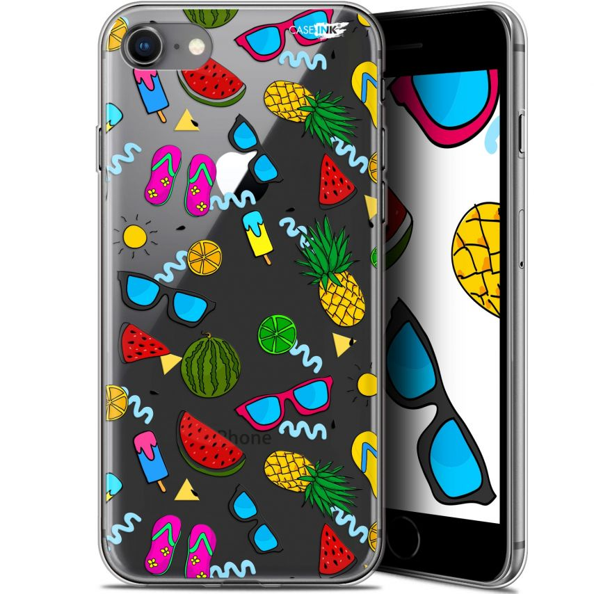 "Coque Gel Apple iPhone 7/8 (4.7"") Extra Fine Motif - Summers"
