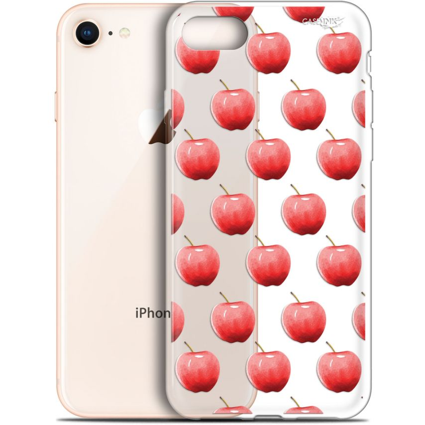 """Coque Gel Apple iPhone 7/8 (4.7"""") Extra Fine Motif - Cerises"""
