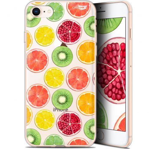 "Coque Gel Apple iPhone 7/8 (4.7"") Extra Fine Motif -  Fruity Fresh"