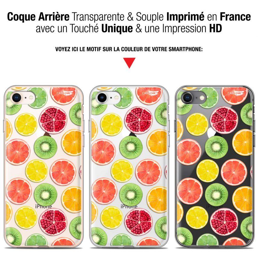 "Coque Gel Apple iPhone 7/8 (4.7"") Extra Fine Motif - Fruity Fresh"