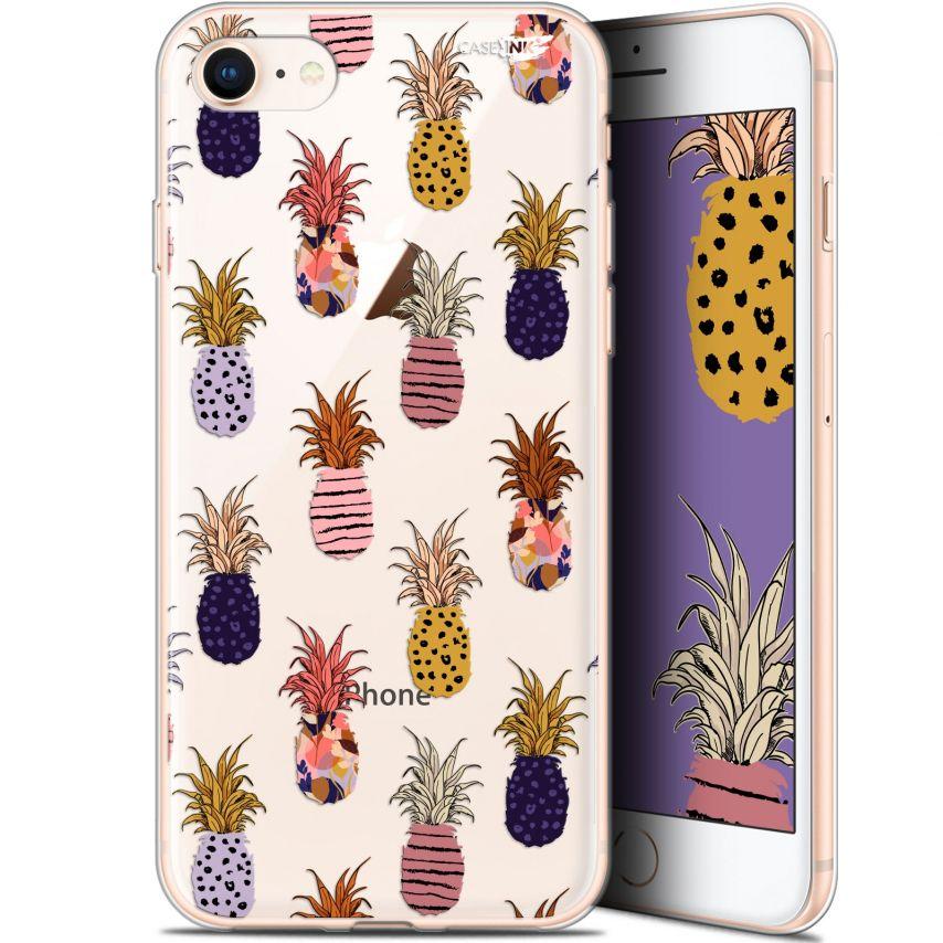 "Coque Gel Apple iPhone 7/8 (4.7"") Extra Fine Motif - Ananas Gold"