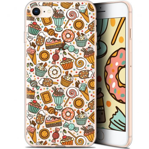 "Coque Gel Apple iPhone 7/8 (4.7"") Extra Fine Motif - Bonbons"