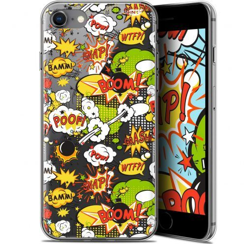 "Coque Gel Apple iPhone 7/8 (4.7"") Extra Fine Motif -  Bim Bam Boom"