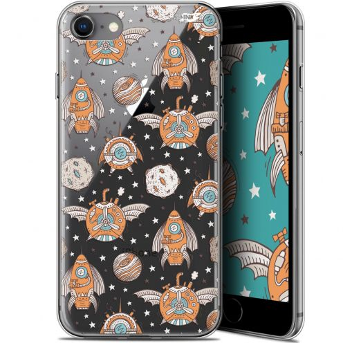 "Coque Gel Apple iPhone 7/8 (4.7"") Extra Fine Motif -  Punk Space"