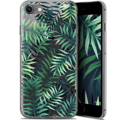"Coque Gel Apple iPhone 7/8 (4.7"") Extra Fine Motif -  Feuilles des Tropiques"