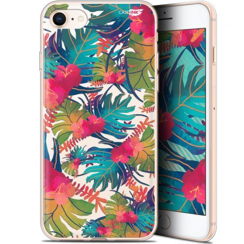 """Coque Gel Apple iPhone 7/8 (4.7"""") Extra Fine Motif - Couleurs des Tropiques"""