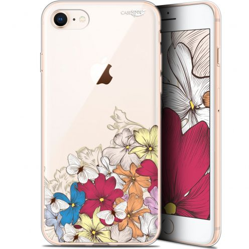 "Coque Gel Apple iPhone 7/8 (4.7"") Extra Fine Motif - Nuage Floral"