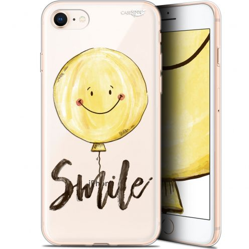 "Coque Gel Apple iPhone 7/8 (4.7"") Extra Fine Motif - Smile Baloon"