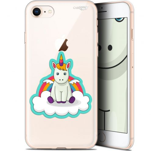 "Coque Gel Apple iPhone 7/8 (4.7"") Extra Fine Motif - Bébé Licorne"
