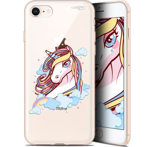 "Coque Gel Apple iPhone 7/8 (4.7"") Extra Fine Motif - Lalicorne"