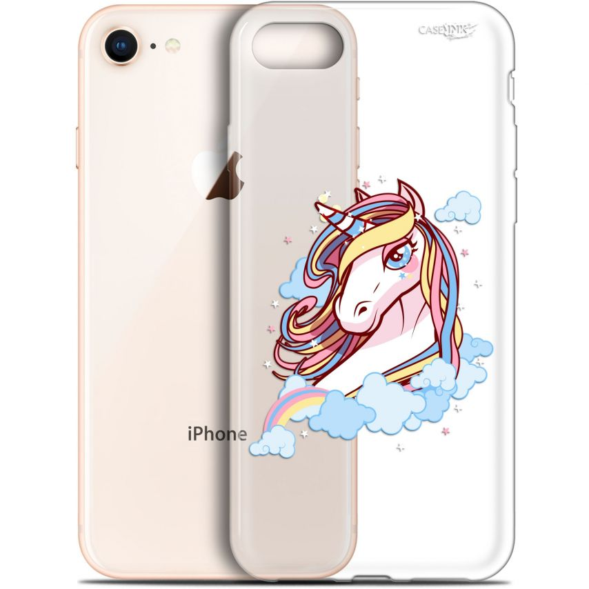 """Coque Gel Apple iPhone 7/8 (4.7"""") Extra Fine Motif - Lalicorne"""