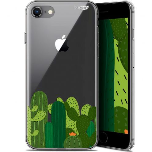 "Coque Gel Apple iPhone 7/8 (4.7"") Extra Fine Motif - Cactus"