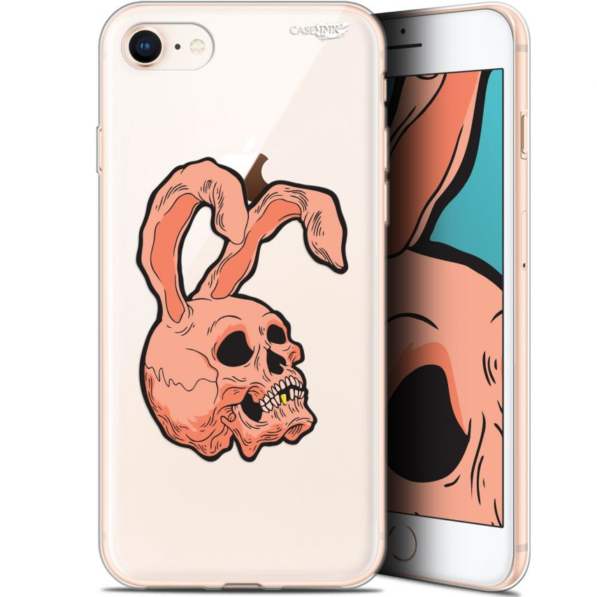 "Coque Gel Apple iPhone 7/8 (4.7"") Extra Fine Motif - Rabbit Skull"