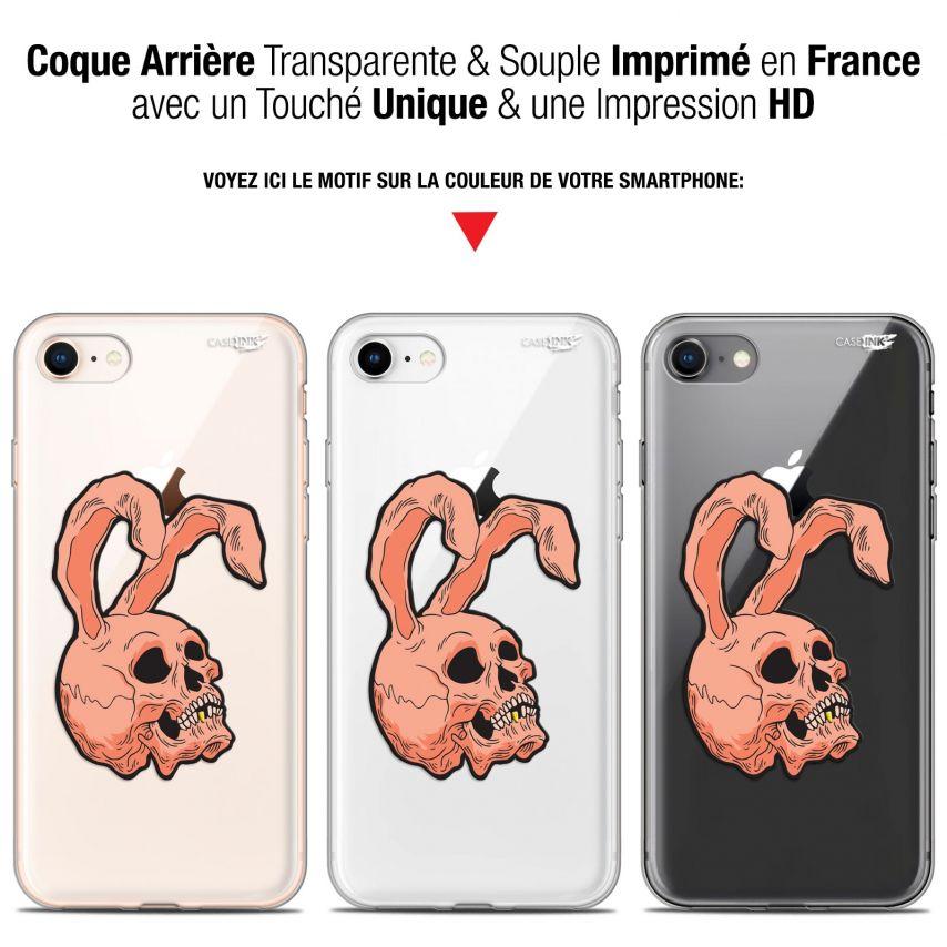 "Coque Gel Apple iPhone 7/8 (4.7"") Extra Fine Motif - Rabbit Skull"