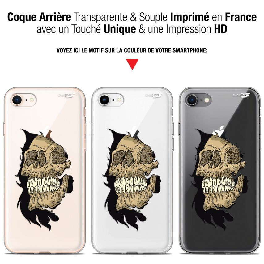 "Coque Gel Apple iPhone 7/8 (4.7"") Extra Fine Motif - Craneur"
