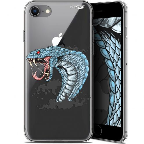 "Coque Gel Apple iPhone 7/8 (4.7"") Extra Fine Motif - Cobra Draw"