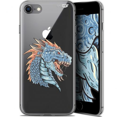 "Coque Gel Apple iPhone 7/8 (4.7"") Extra Fine Motif - Dragon Draw"