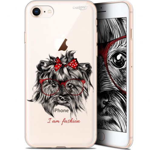 "Coque Gel Apple iPhone 7/8 (4.7"") Extra Fine Motif - Fashion Dog"