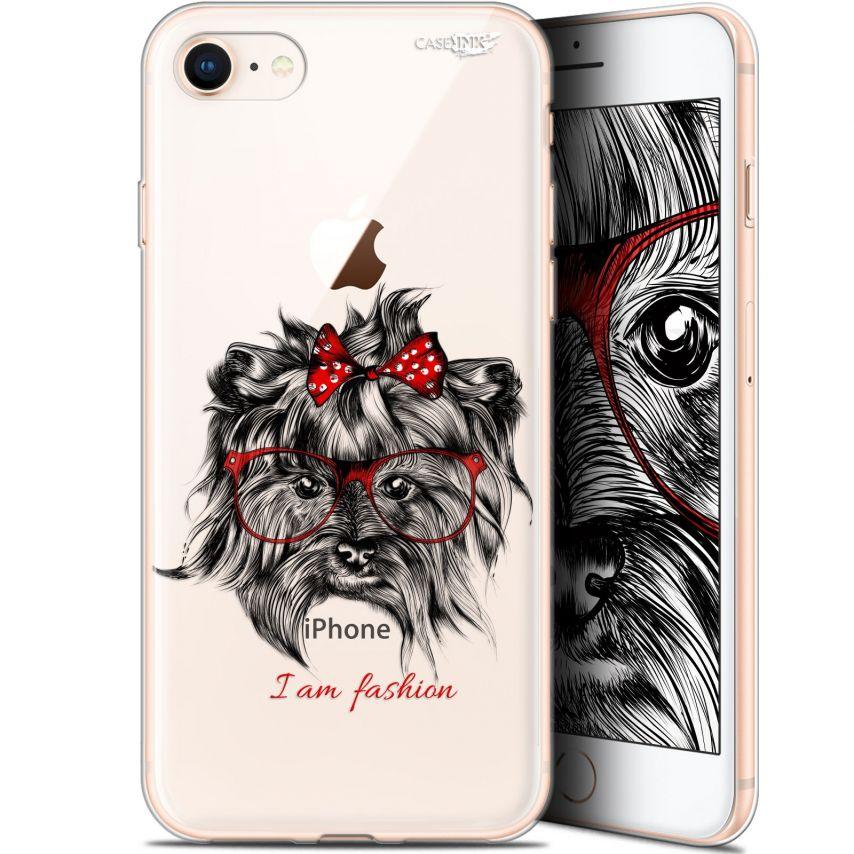 "Coque Gel Apple iPhone 7/8 (4.7"") Extra Fine Motif - Fashion Dog"
