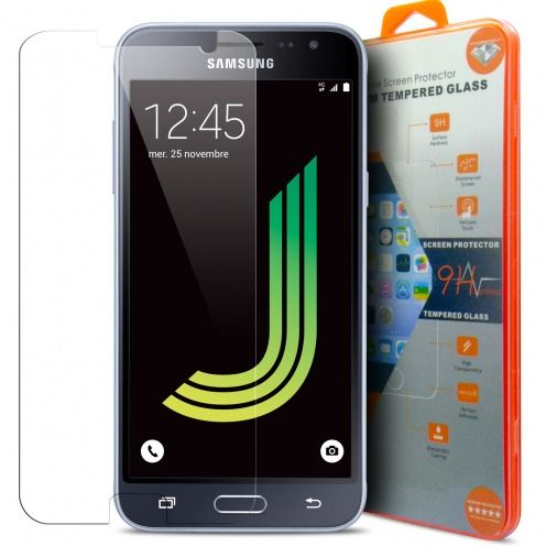 Protection d'écran Verre trempé Samsung Galaxy J3 2016 (J320/310) - 9H Glass Pro+ HD 0.33mm 2.5D