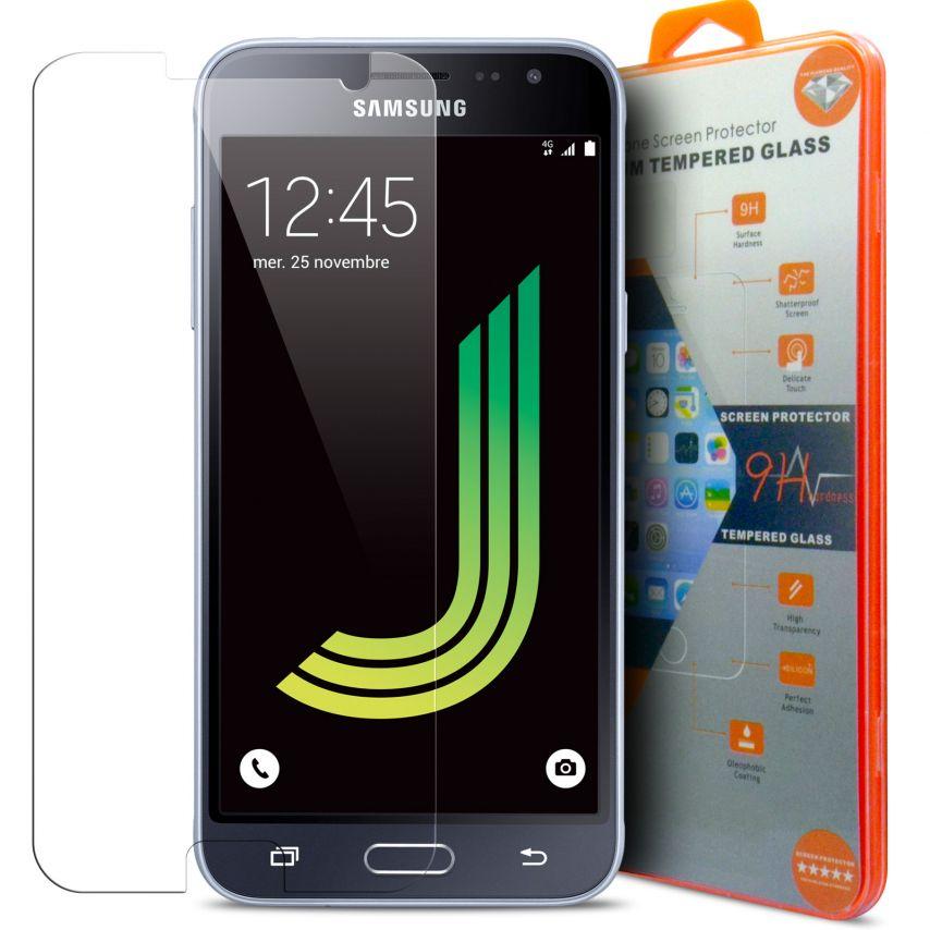 Protection d'écran Verre trempé Samsung Galaxy J3 2016 (J320/310) - 9H Glass Pro+ HD 0.33mm 2.5D
