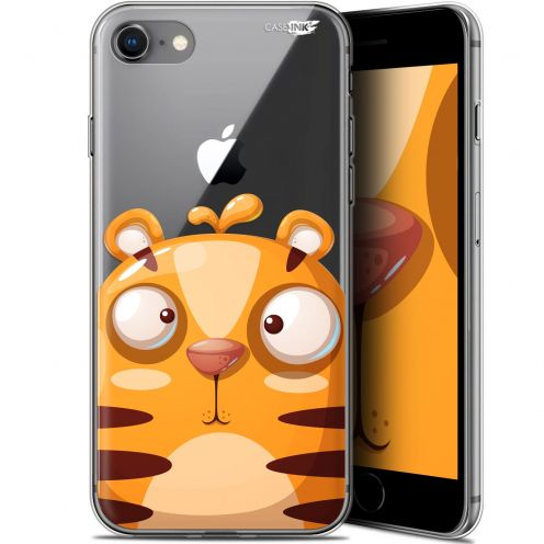 "Coque Gel Apple iPhone 7/8 (4.7"") Extra Fine Motif -  Cartoon Tiger"