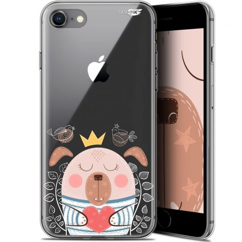 "Coque Gel Apple iPhone 7/8 (4.7"") Extra Fine Motif - Sketchy Dog"