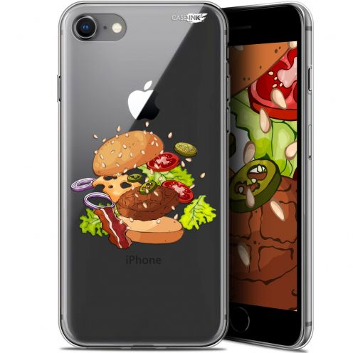 "Coque Gel Apple iPhone 7/8 (4.7"") Extra Fine Motif -  Splash Burger"