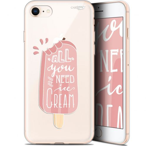 "Coque Gel Apple iPhone 7/8 (4.7"") Extra Fine Motif -  Ice Cream"
