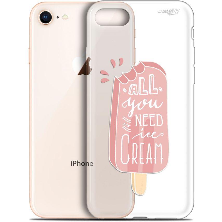 """Coque Gel Apple iPhone 7/8 (4.7"""") Extra Fine Motif - Ice Cream"""
