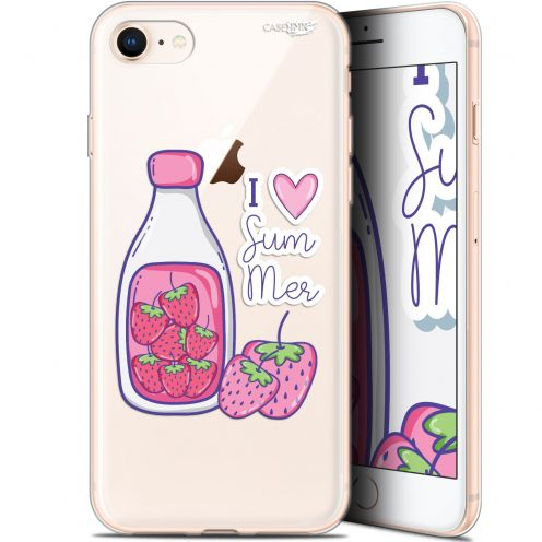 "Coque Gel Apple iPhone 7/8 (4.7"") Extra Fine Motif -  Milky Summer"