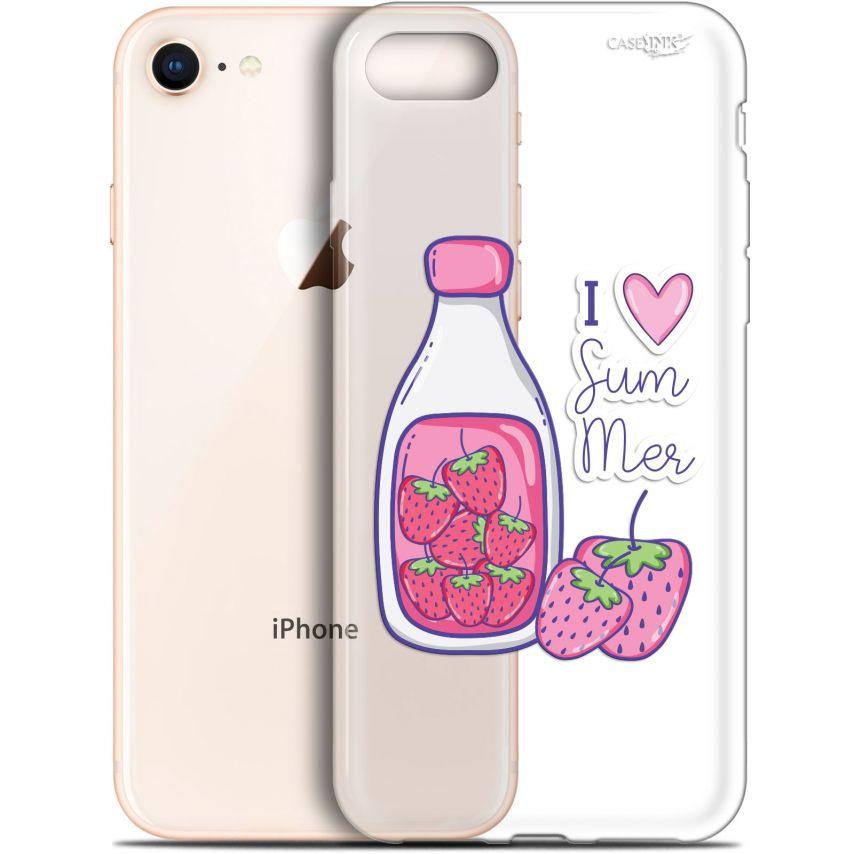 """Coque Gel Apple iPhone 7/8 (4.7"""") Extra Fine Motif - Milky Summer"""
