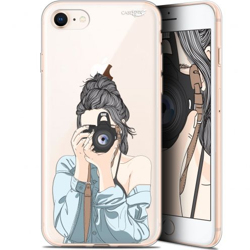 "Coque Gel Apple iPhone 7/8 (4.7"") Extra Fine Motif -  La Photographe"