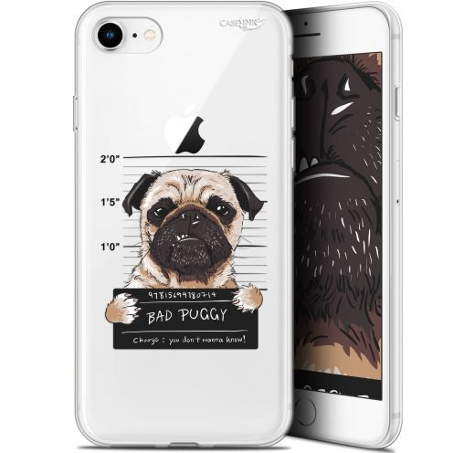 "Coque Gel Apple iPhone 7/8 (4.7"") Extra Fine Motif - Beware The Puggy Dog"