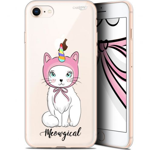 "Coque Gel Apple iPhone 7/8 (4.7"") Extra Fine Motif -  Ce Chat Est MEOUgical"