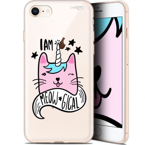 "Coque Gel Apple iPhone 7/8 (4.7"") Extra Fine Motif - I Am MEOUgical"
