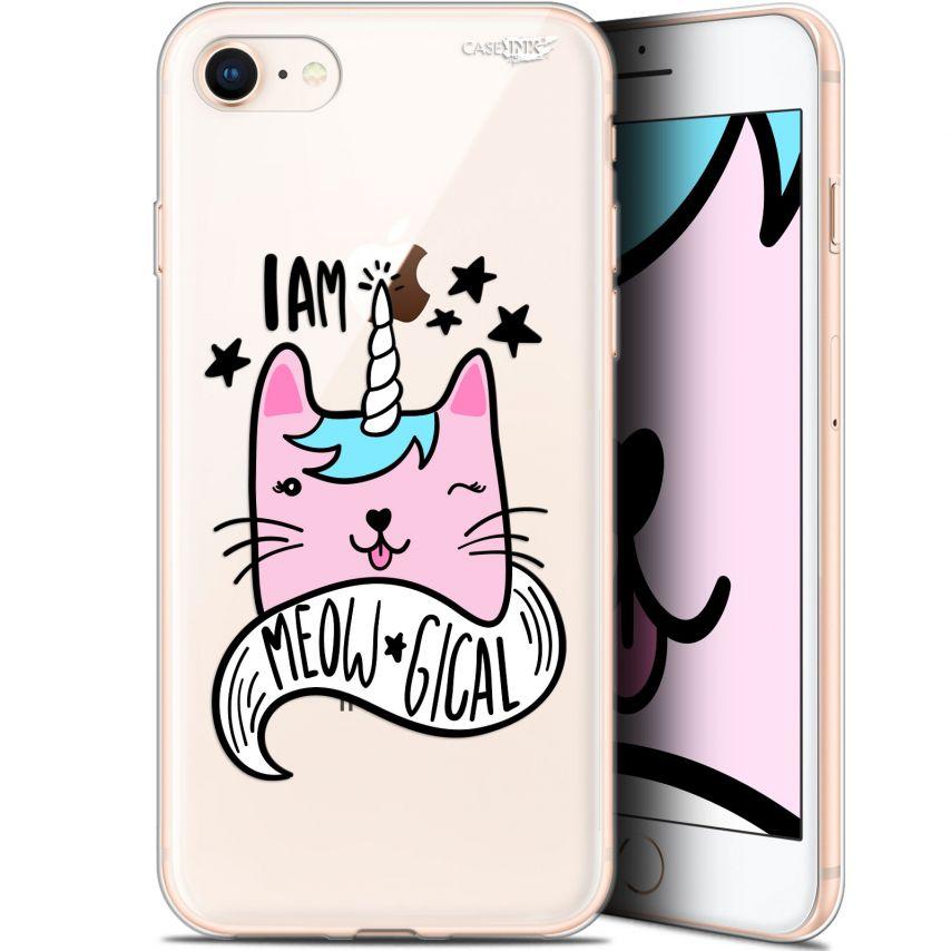 "Coque Gel Apple iPhone 7/8 (4.7"") Extra Fine Motif - I Am MEOUgical"