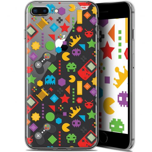 "Coque Gel Apple iPhone 7/8 Plus (4.7"") Extra Fine Motif - PacMan"
