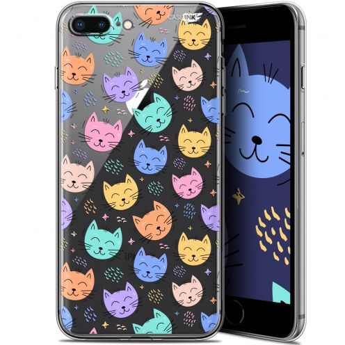 "Coque Gel Apple iPhone 7/8 Plus (4.7"") Extra Fine Motif - Chat Dormant"