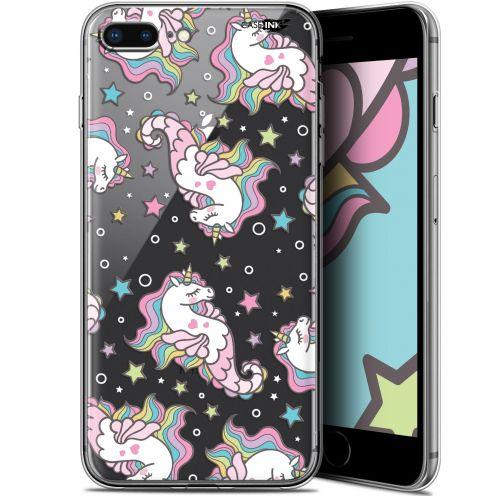 """Coque Gel Apple iPhone 7/8 Plus (4.7"""") Extra Fine Motif -  Licorne Dormante"""