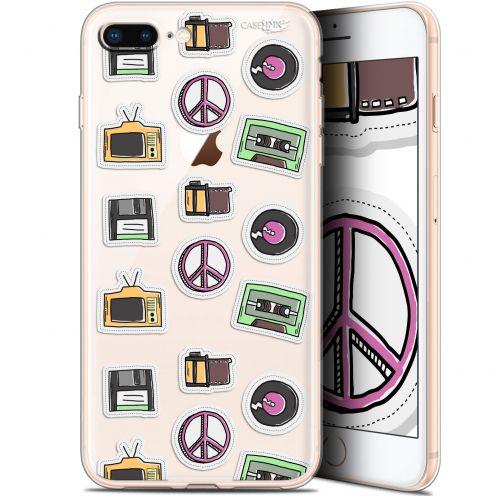 "Coque Gel Apple iPhone 7/8 Plus (4.7"") Extra Fine Motif -  Vintage Stickers"