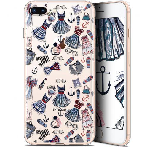 """Coque Gel Apple iPhone 7/8 Plus (4.7"""") Extra Fine Motif -  Fashionista"""