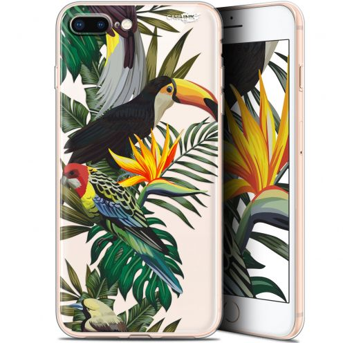 "Coque Gel Apple iPhone 7/8 Plus (4.7"") Extra Fine Motif - Toucan Tropical"