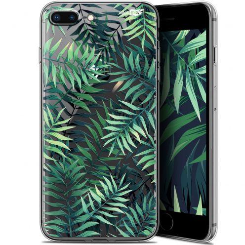 "Coque Gel Apple iPhone 7/8 Plus (4.7"") Extra Fine Motif -  Feuilles des Tropiques"