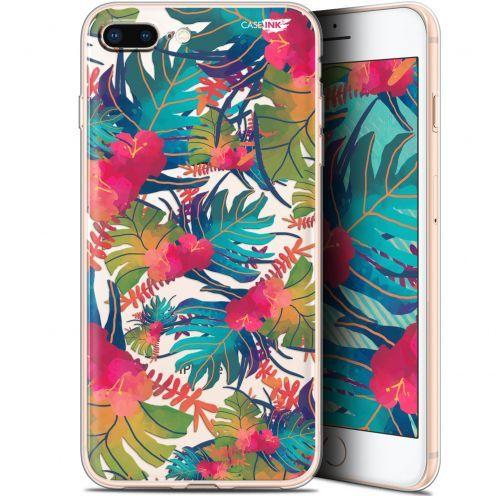 """Coque Gel Apple iPhone 7/8 Plus (4.7"""") Extra Fine Motif -  Couleurs des Tropiques"""