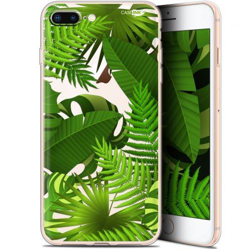 "Coque Gel Apple iPhone 7/8 Plus (4.7"") Extra Fine Motif -  Plantes des Tropiques"
